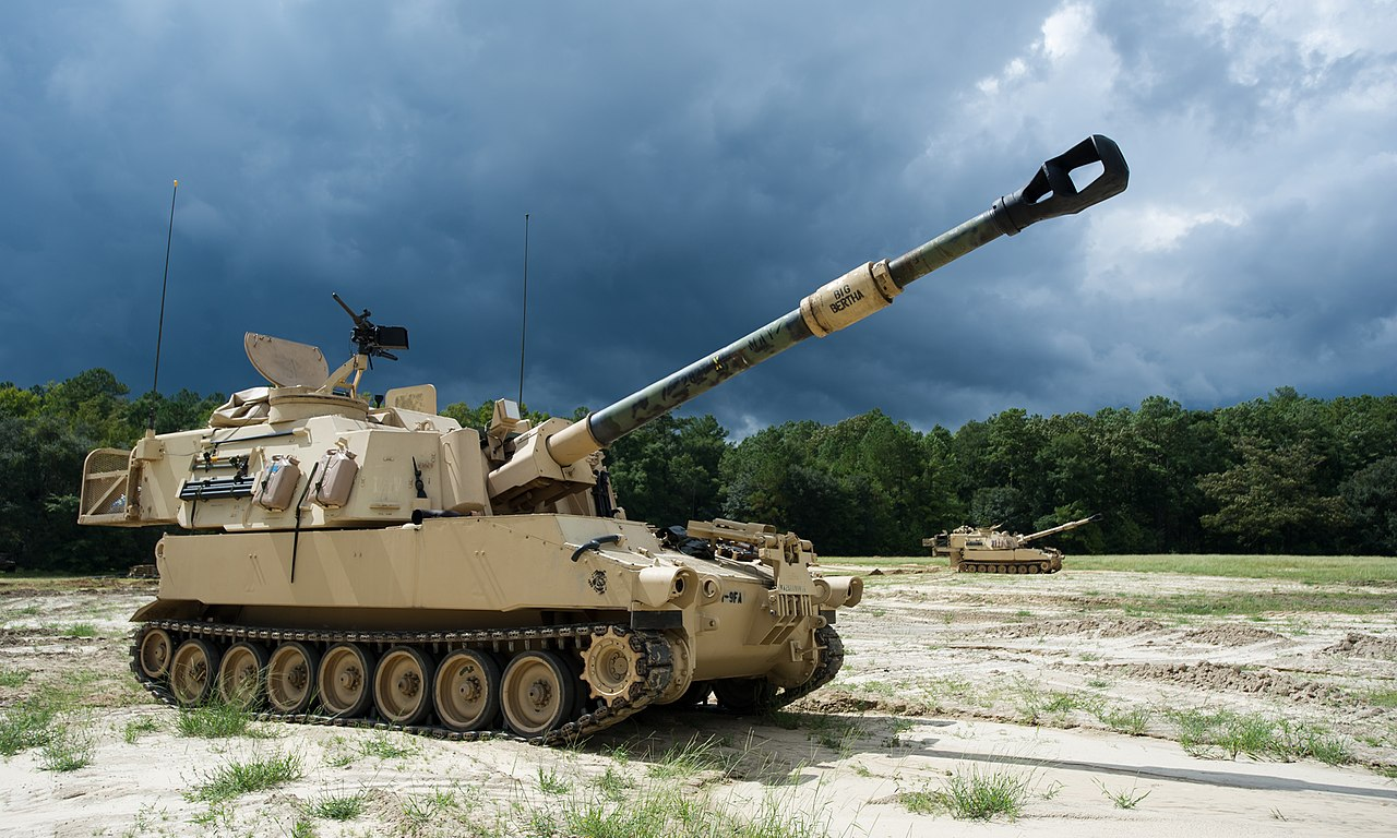 Vehicle - Vehicle - Armored Vehicle - Artillery - M109
