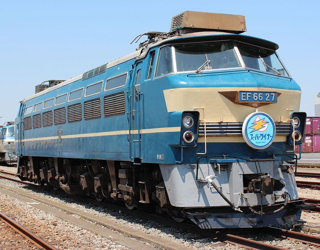 Vehicle - Rail - Locomotive - Electric - JNR Class EF66
