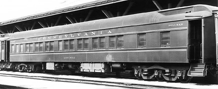 Vehicle - Rail - Passenger Car - Heavyweight - Pullman Parlor 28-1