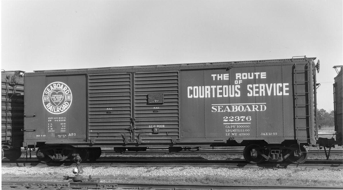 Vehicle - Rail - Rolling Stock (Freight) - Boxcar - 50 Foot AAR Double Door
