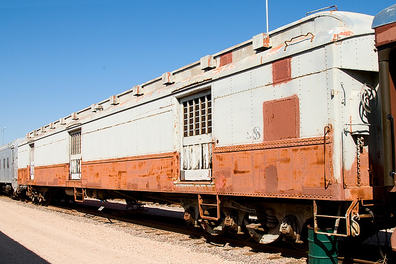 Vehicle - Rail - Passenger Car - Heavyweight - ACF Horse