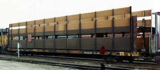 Vehicle - Rail - Rolling Stock (Freight) - Autorack - Open, Bi-Level