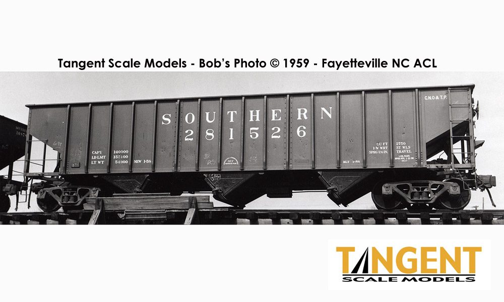 Vehicle - Rail - Rolling Stock (Freight) - Open Hopper - 3-Bay PS 2750
