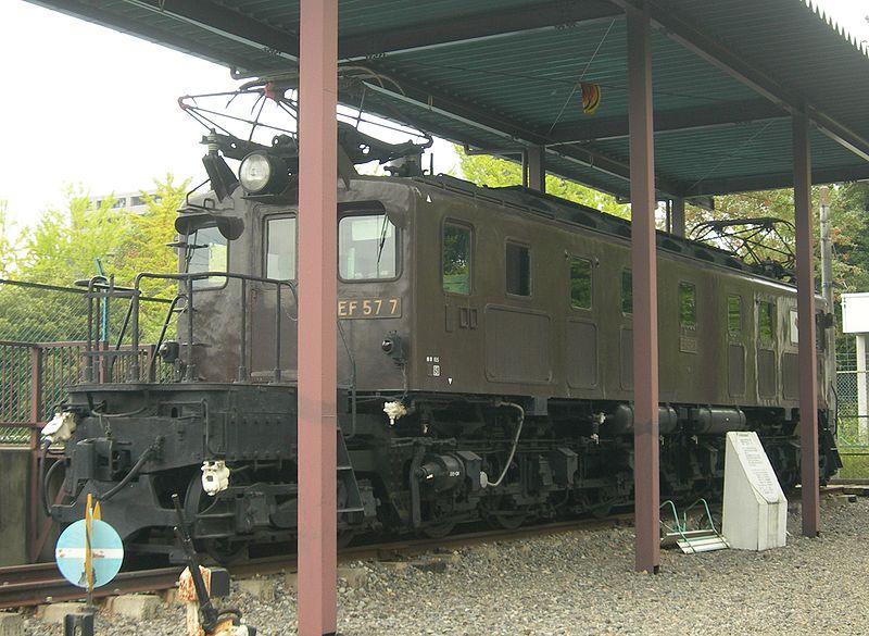 Vehicle - Rail - Passenger Train - Electric - Class EF57