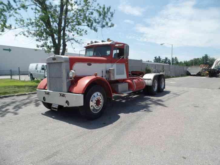 Vehicle - Vehicle - Truck - Semi Tractor Cab - Peterbilt 350