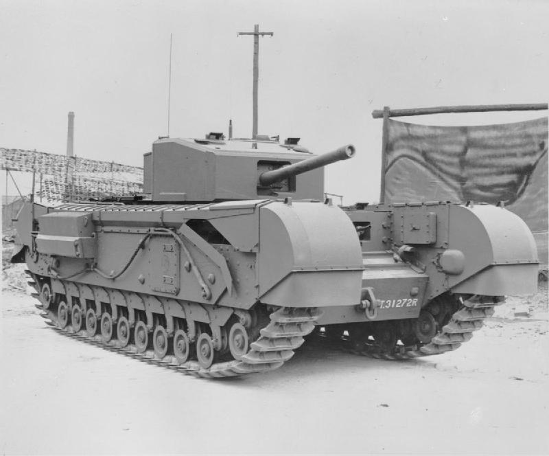 Vehicle - Vehicle - Armored Vehicle - Tank - Churchill
