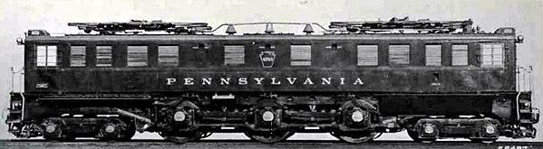 Vehicle - Rail - Locomotive - Electric - P5