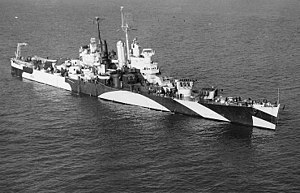 Warship - USS Houston (CL-81) - Cruiser - Light Cruiser