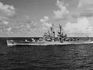 Warship - USS Manchester (CL-83) - Cruiser - Light Cruiser