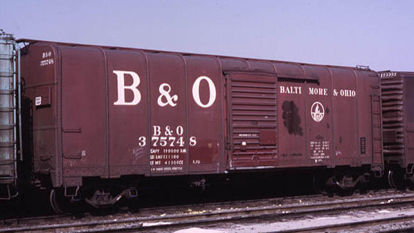 Vehicle - Rail - Rolling Stock (Freight) - Boxcar - 50 Foot M-53 Wagontop