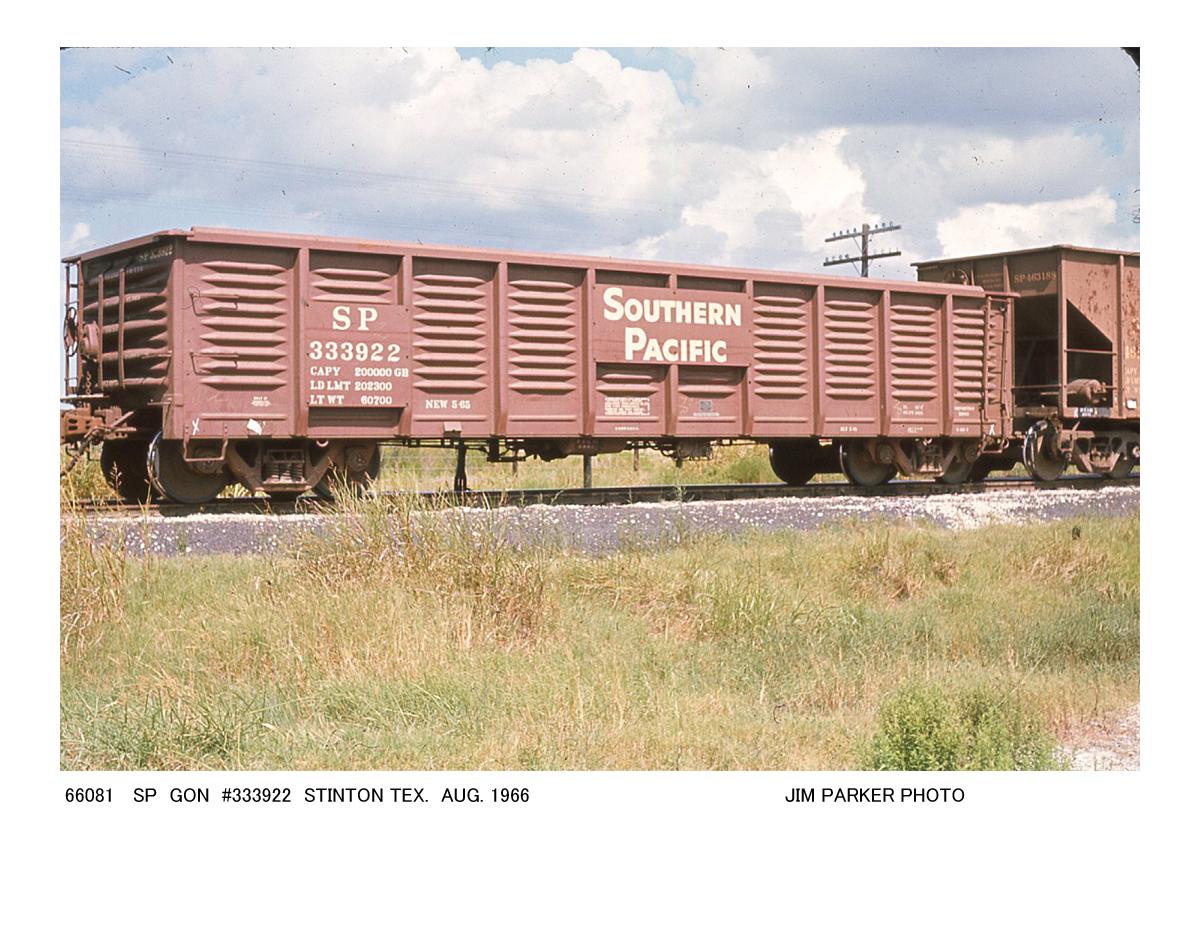 Vehicle - Rail - Rolling Stock (Freight) - Gondola - 2420 c.f.