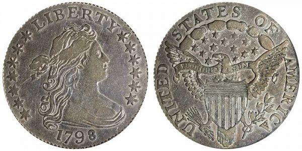 US Coin - 1798 - Draped Bust Dime - Philadelphia