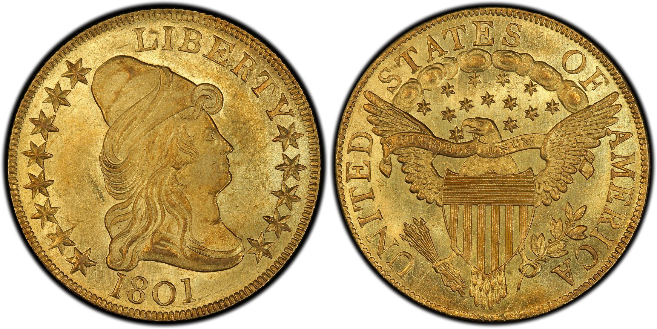 1801 - Turban Head Eagle - Philadelphia