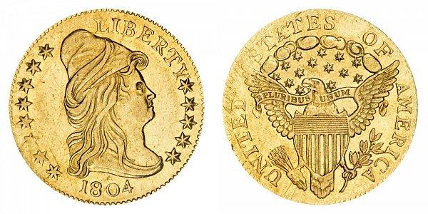 US Coin - 1804 - Turban Head Quarter Eagle - Philadelphia