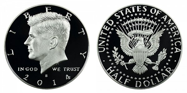 2014 - Kennedy Half Dollar - San Francisco