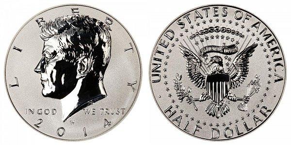 2014 - Kennedy Half Dollar - West Point