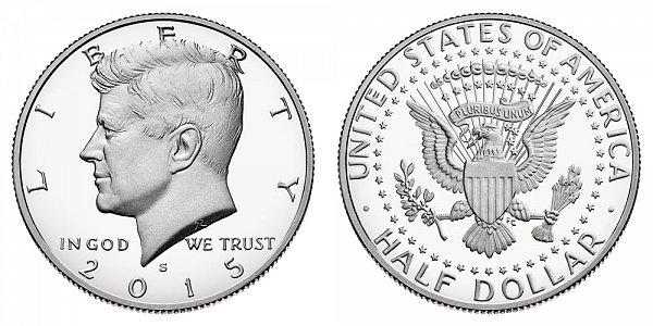 2015 - Kennedy Half Dollar - San Francisco