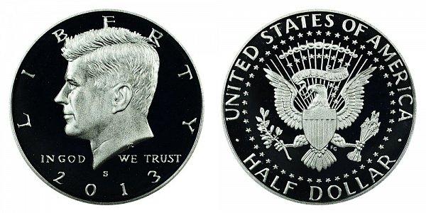 2013 - Kennedy Half Dollar - San Francisco