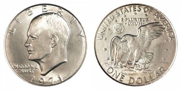 1971 - Eisenhower Dollar - Denver