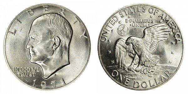 1971 - Eisenhower Dollar - Philadelphia