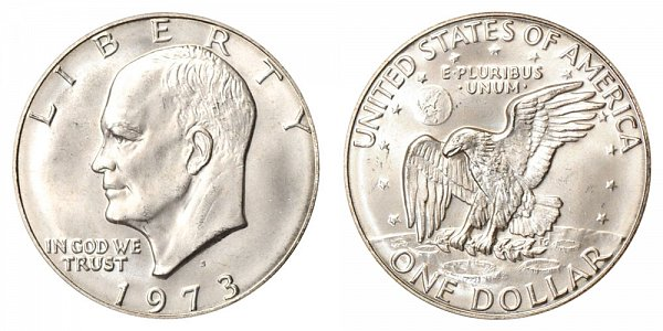 1973 - Eisenhower Dollar - San Francisco