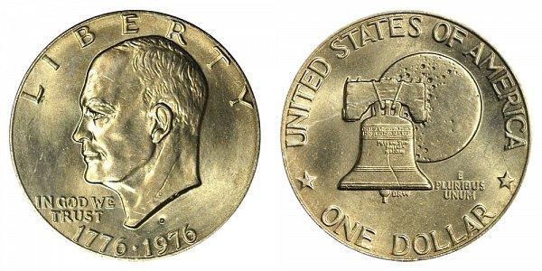 1976 - Eisenhower Dollar - Denver