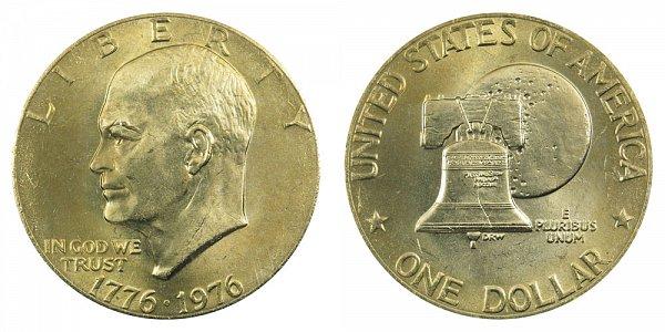 1976 - Eisenhower Dollar - Philadelphia