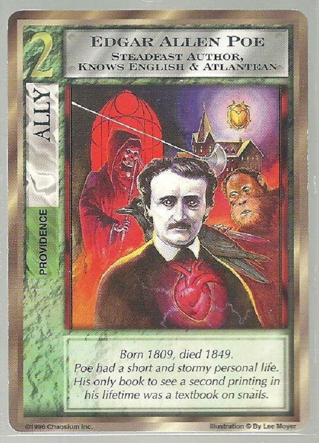 Mythos CCG - Edgar Allen Poe