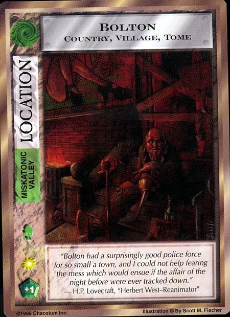 Mythos CCG - Bolton