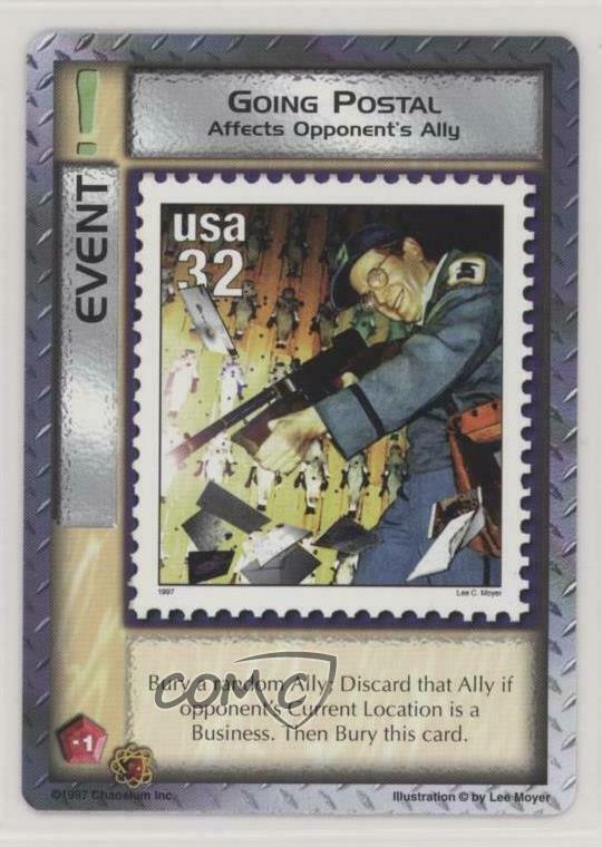 Mythos CCG - Going Postal