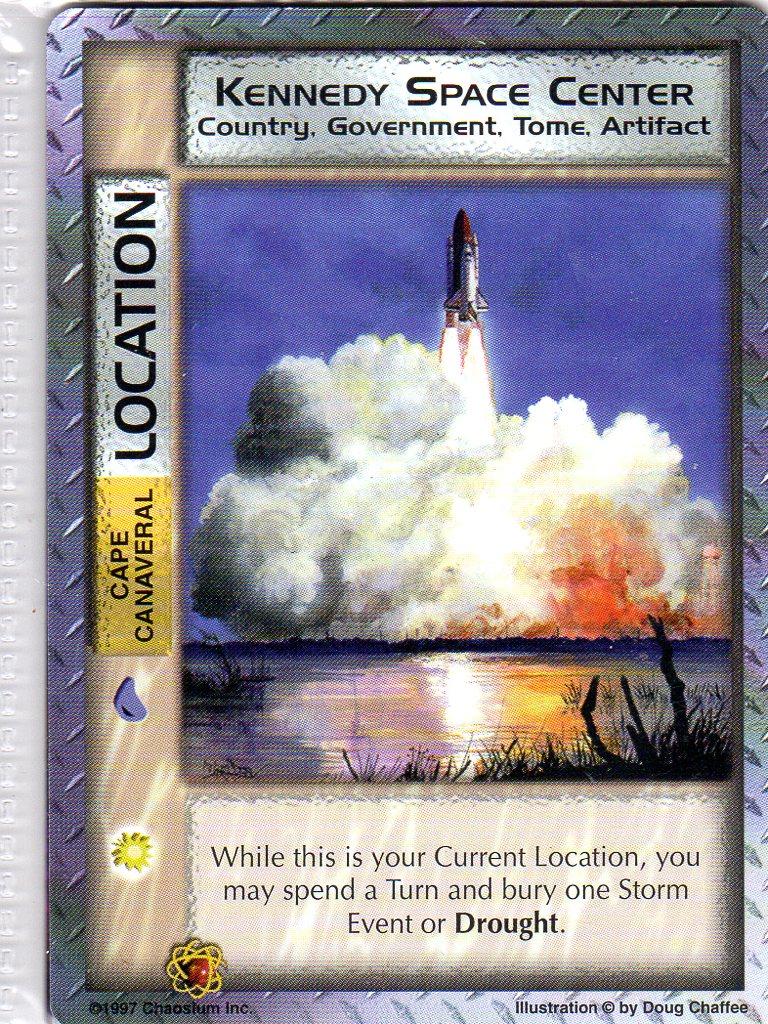 Mythos CCG - Kennedy Space Center