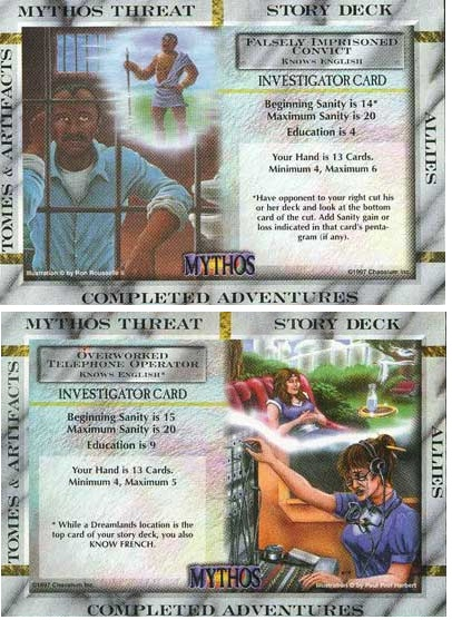 Mythos CCG - Falsely Imprisoned Convict/Overworked Telephone Operator