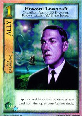 Mythos CCG - Howard Lovecraft