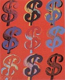 Warhol - 1982 - $ (9), II.285