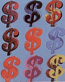 Warhol - 1982 - $ (9), II.286