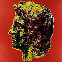 Warhol - 1982 - Alexander the Great, II.292