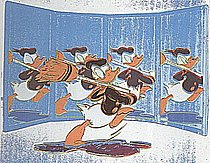 Warhol - 1985 - Anniversary Donald Duck, II.360