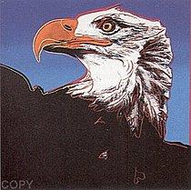 Warhol - 1983 - Bald Eagle, II.296