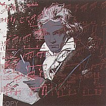 Warhol - 1987 - Beethoven, II.391