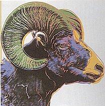 Warhol - 1983 - Bighorn Ram, II.302
