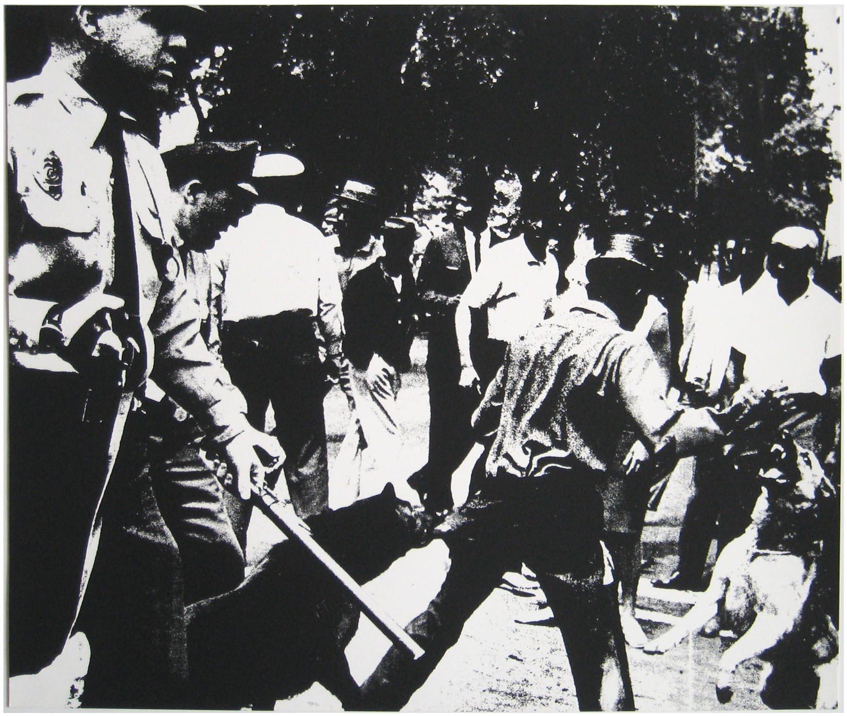 Warhol - 1964 - Birmingham Race Riot, II.3