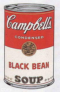 Warhol - 1968 - Black Bean, II.44
