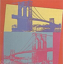 Warhol - 1983 - Brooklyn Bridge, II.290