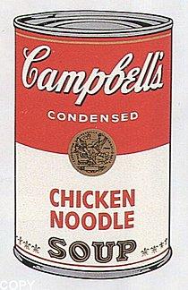 Warhol - 1968 - Chicken Noodle, II.45