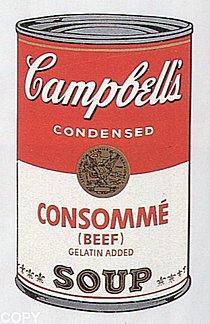 Warhol - 1968 - Consomme (Beef), II.52