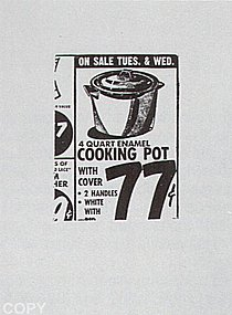Warhol - 1962 - Cooking Pot, II.1