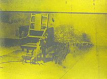 Warhol - 1971 - Electric Chair, II.74