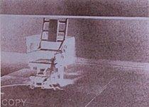 Warhol - 1971 - Electric Chair, II.78