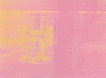 Warhol - 1971 - Electric Chair, II.82