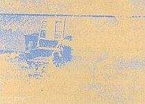 Warhol - 1971 - Electric Chair, II.83